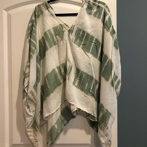 LoveStitch poncho. One size